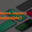 Are phone repairs tax deductible