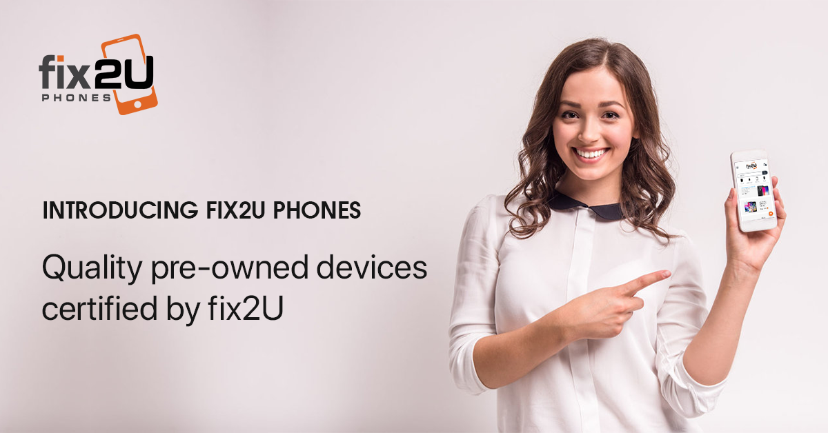 fix2U Phones Quality Pre-Owned Refurbished Phones